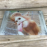 Goat Glass Cutting Board