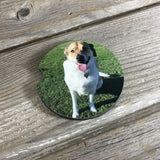 Set of 2 Personalized Car Coasters