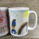 Child's Drawing Personalized Mug