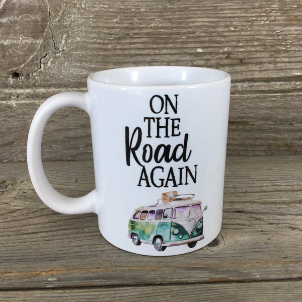 On The Road Again 11 oz. Coffee Mug