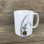 Let's Hook Up Fishing Coffee Mug