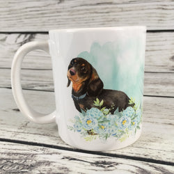 Black and Tan Dachshund 11 oz. Mug