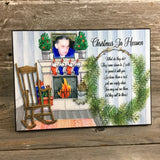 Personalized Christmas in Heaven Sign