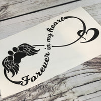 Dog Memorial Vinyl Decal