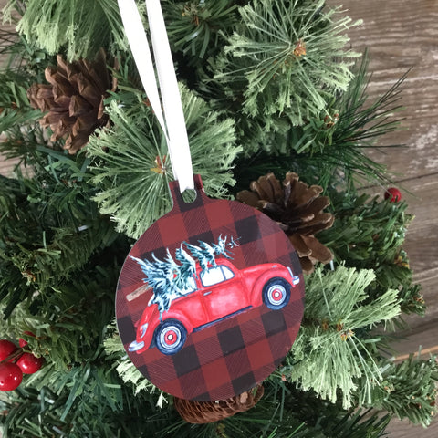 Vintage Bug Christmas Ornament