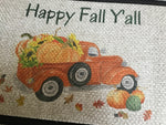 Happy Fall Y'all - Door Mat