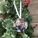 Wood Picture Ornament