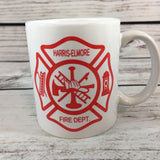 Fire Department Shield 11 oz. Coffee Mug