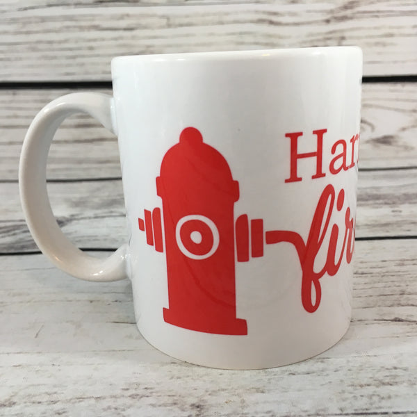 Personalized Fire Hydrant 11 oz. Coffee Mug