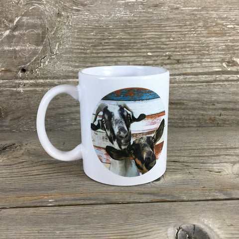 Peaking Goat Coffee Mug 11 oz