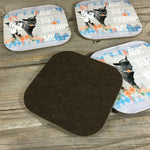 Are you kidding me? Goat Coasters Set of 4