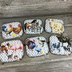 Rustic Farm Coasters