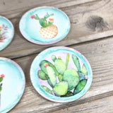 Cactus Set of 4 Hardboard Coasters