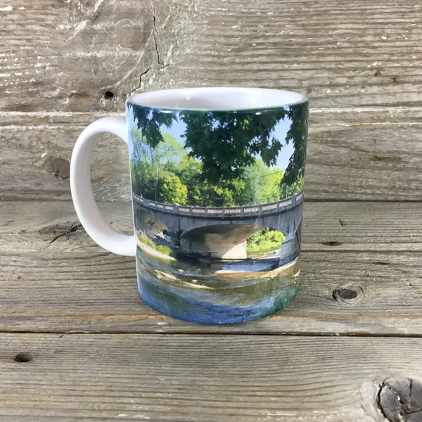 Elmore Ohio Portage River Bridge Coffee Mug