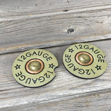 12 Gauge Shotgun Shell Car Coasters