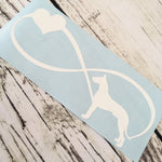 Great Dane Infinity Vinyl Decal
