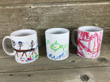 Child's Drawing Personalized 11 oz Mug