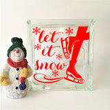 Let it Snow Winter Decal