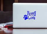 Puppy Love Paw Print Decal