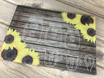 Sunflower Cutting Board