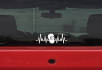 Welding Shield Lifeline Decal