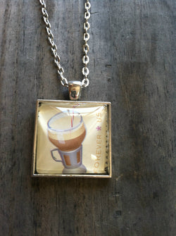 Egg Cream Soda Necklace