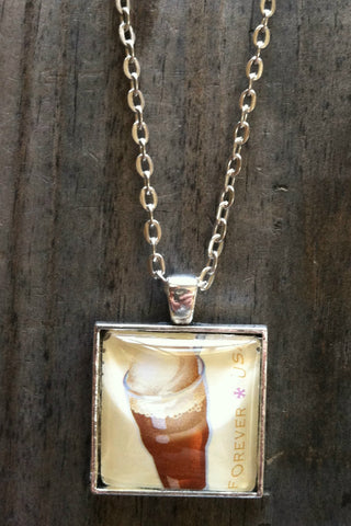 Rootbeer Float Necklace
