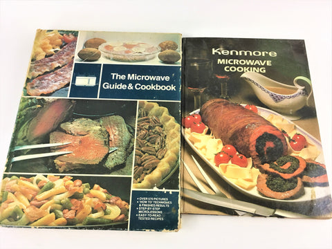 Kenmore Microwave Cooking and The Microwave Guide & Cookbook