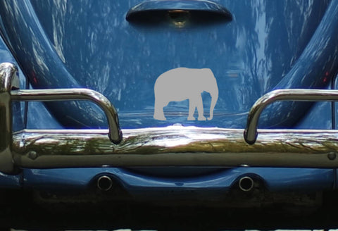 Elephant Car Window Decal