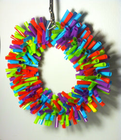 Medium Silly Sid Straw Wreath