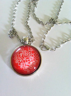 Red Forever Heart Necklace