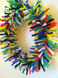 Silly Sid Straw Wreath Large Bird Toy