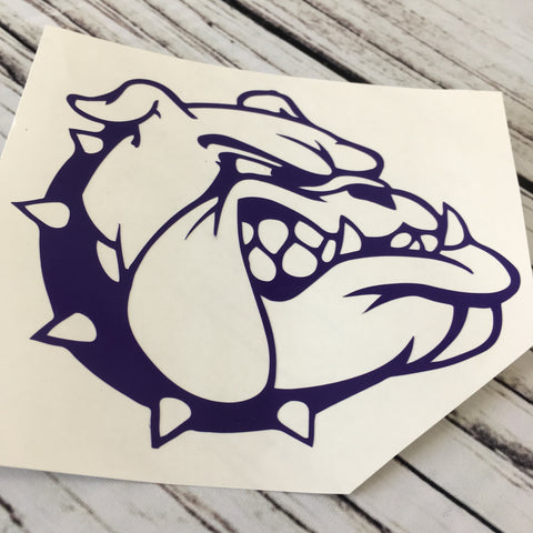 Bulldog Car Decal