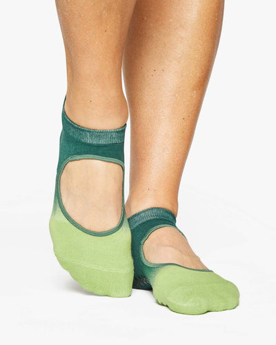 Nina Grip Sock - green