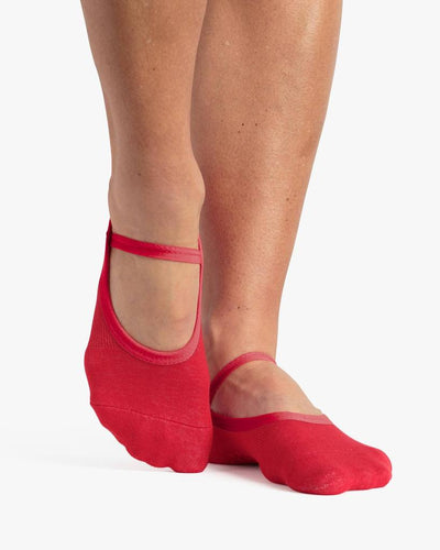 Karina Dance Sock Red