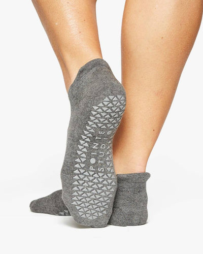 Josie Grip Sock - grey