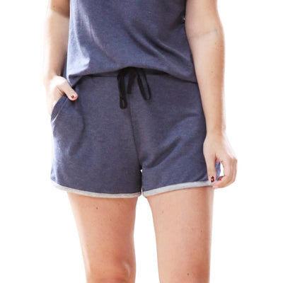 Weekender Pyjama Set Short Sleeve Navy
