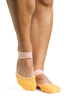 Nina Grip Sock - yellow