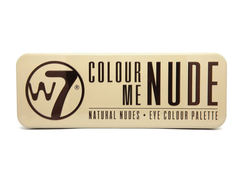 W7 Colour Me Nude Eye Colour Palette