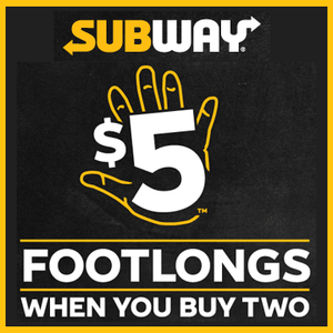$5 Footlongs Collection
