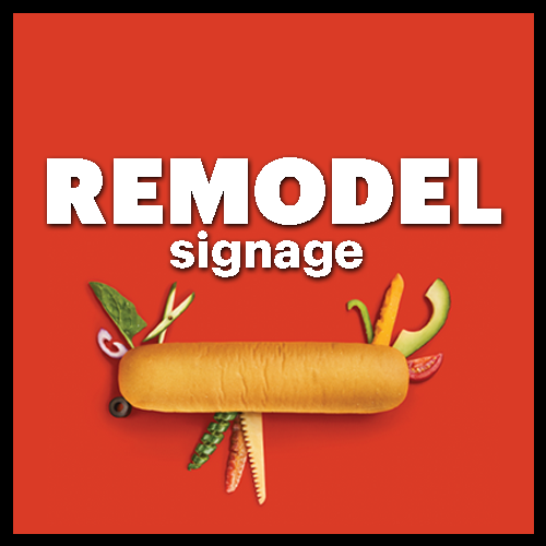 Remodel / Construction Signage