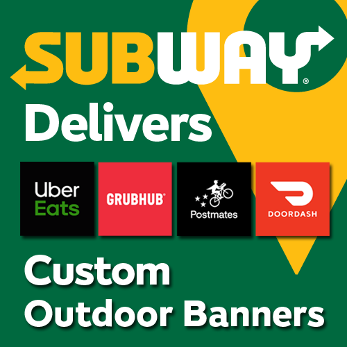 Subway Delivers Banners