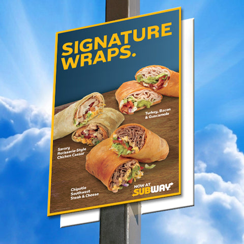 Signature Wraps Pole Signs