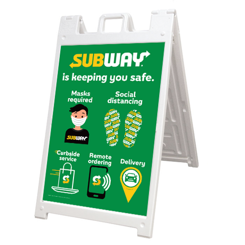 Subway Safe A-Frame Kit