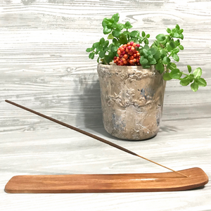 Wood Incense Holder