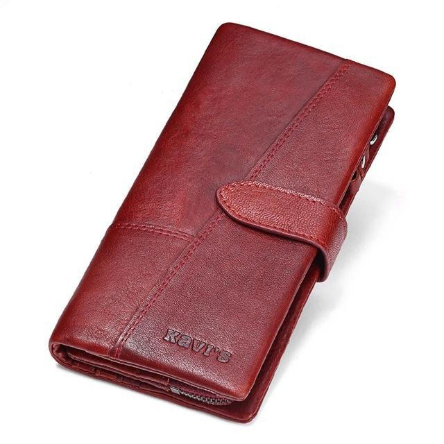 Custom Engraved Genuine Leather Wallet