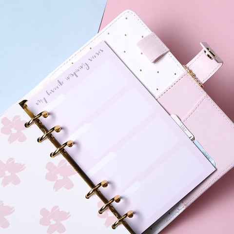 2018 Planner Refill Notebook