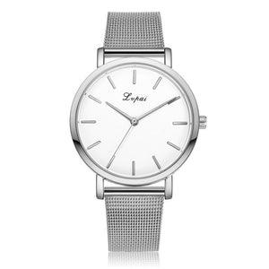 Womens Stainless Steel Watch- Silver