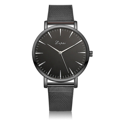 Womens Stainless Steel Watch- Black