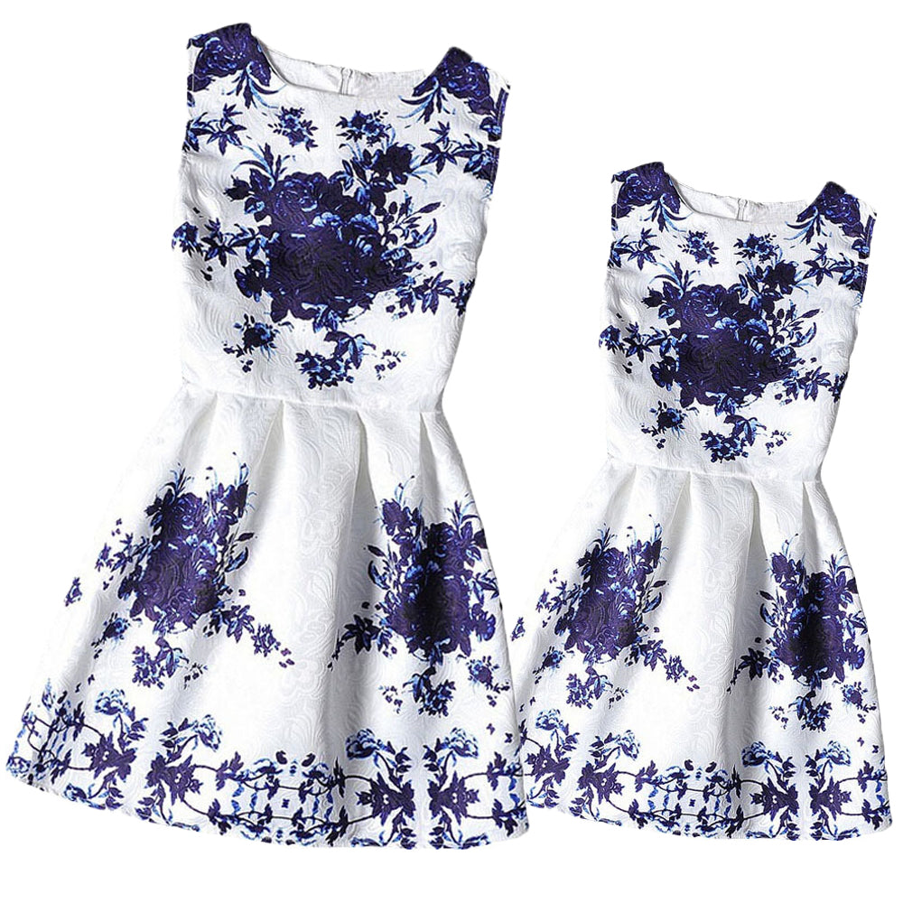 Mommy Floral Matching Dress